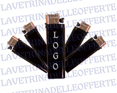 Lighters custom 100pieces black
