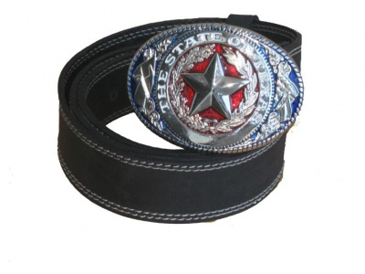 Belt Buckle Western Star state of Texas