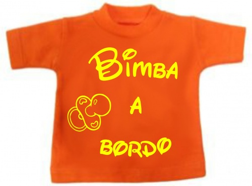 Mini t-shirt bimbo a bordo cuiuccetto