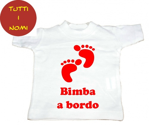 Mini-T-Shirt baby on board copia