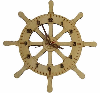 Wooden watch forms casette style pendulum copia